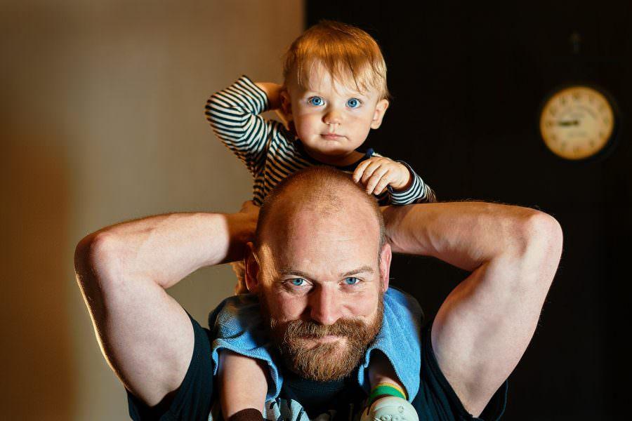 zdjęcia rodzinne dziecko tata