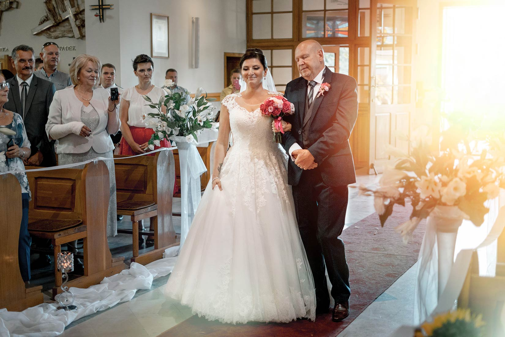 fotograf na ślub kościół zdjęcia
