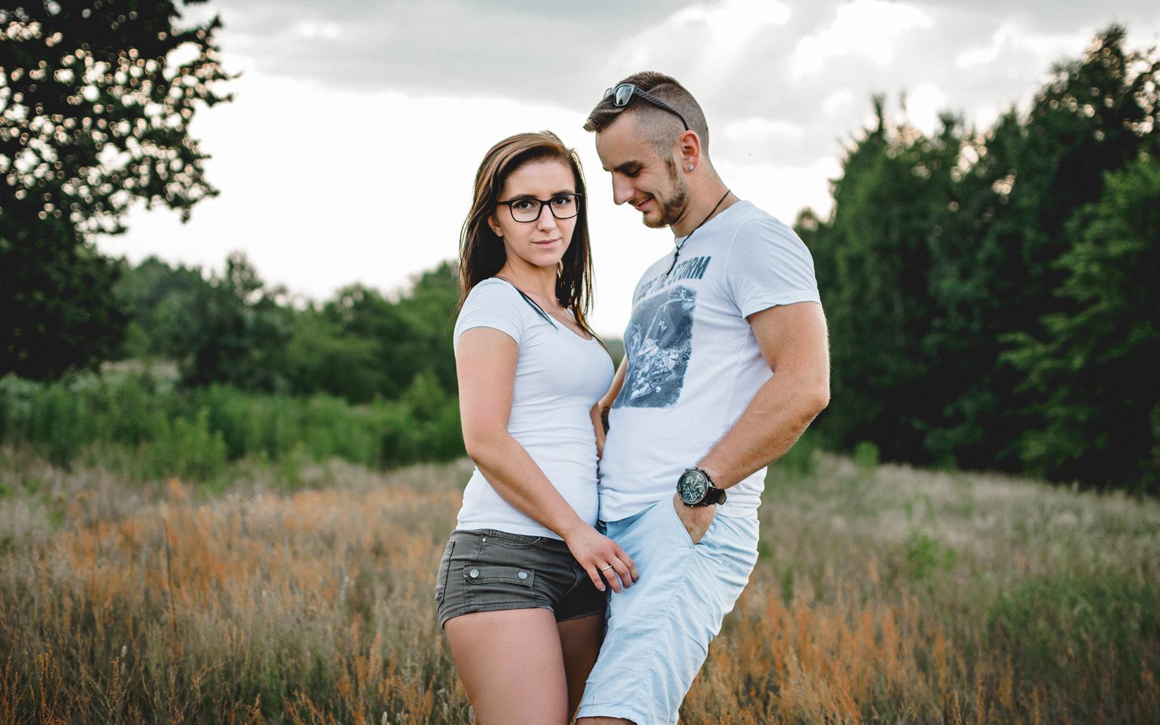 Sesja narzeczeńska: Ania & Błażej