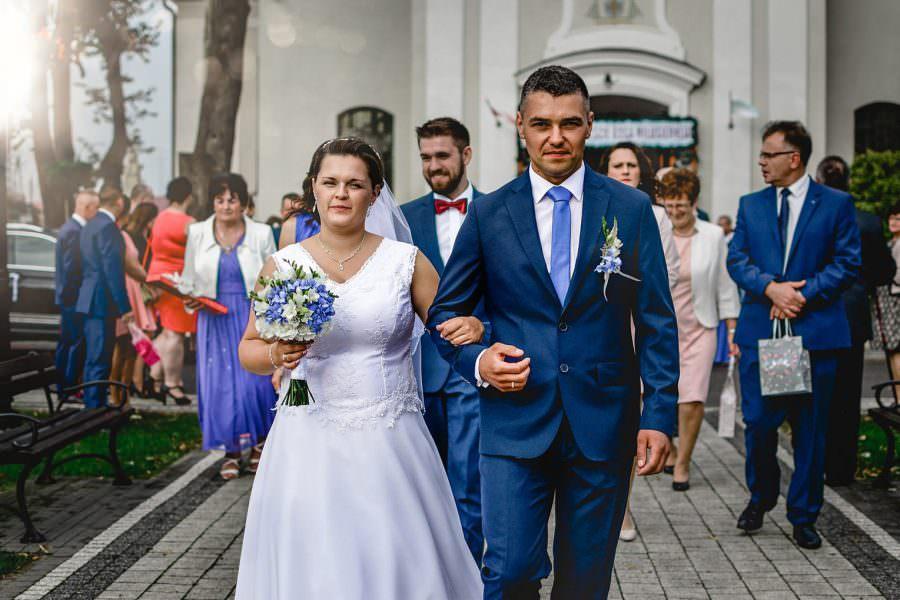 Fotograf Ślubny Łódź - zdjęcia kościół