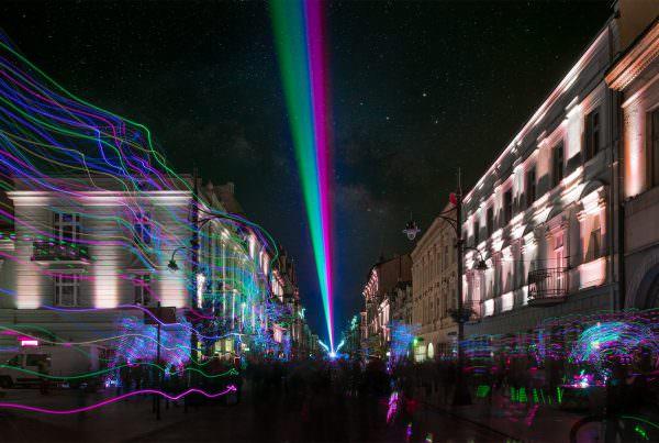 Light Move Festival Łódź 2018