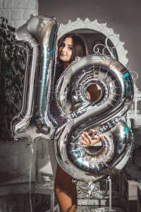Osiemnasta sesja zdjęciowa fotograf osiemnaste urodziny