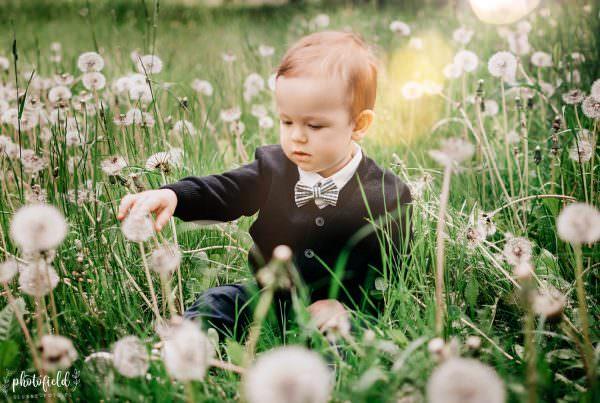 Dziecko sesja fotograficzna