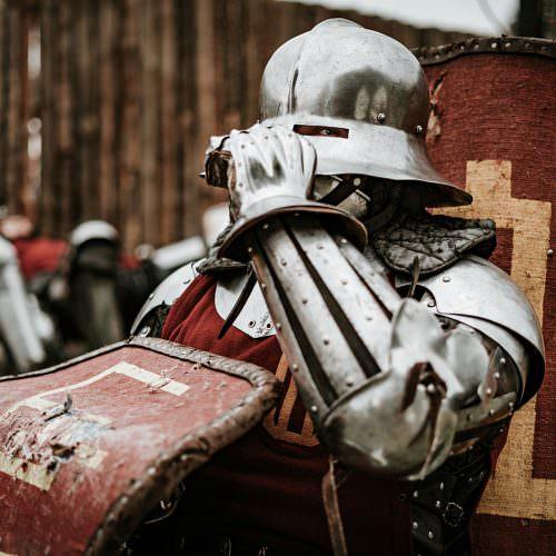 Grunwald 2019 - Inscenizacja Bitwy, galeria zdjęć, medieval knight, battle, rekonstrukcja