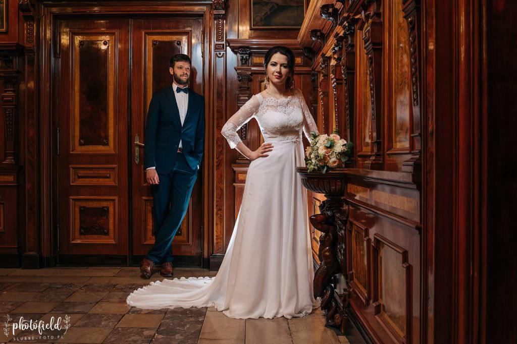 Sesja Ślubna, fotograf ślubny Łódź, sesja fotograficzna, pałac, zamek, muzeum