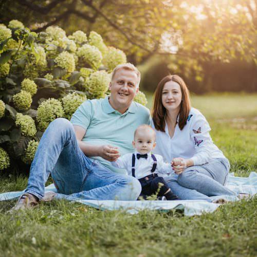 sesja rodzinna fotograf łódź