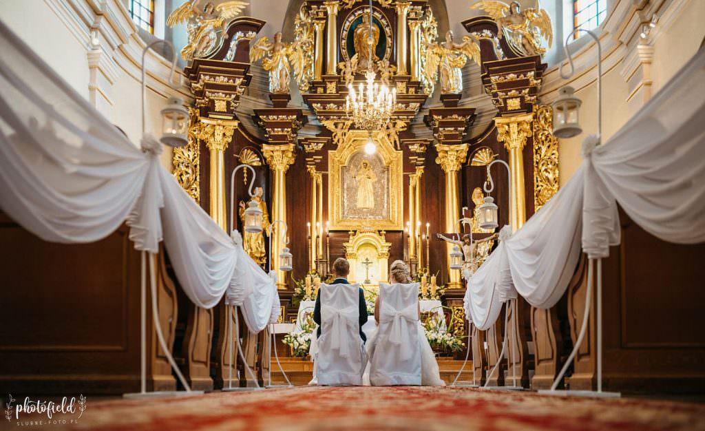fotografia ślubna kościół fotograf ślub Łódź