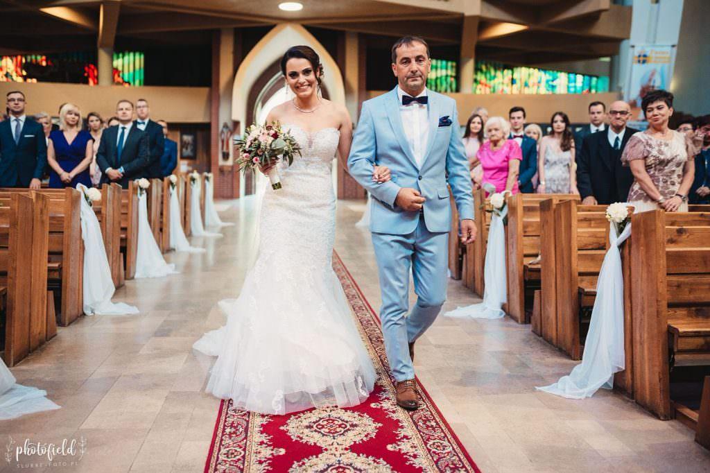 fotografia ślubna kościół zdjęcia ślub