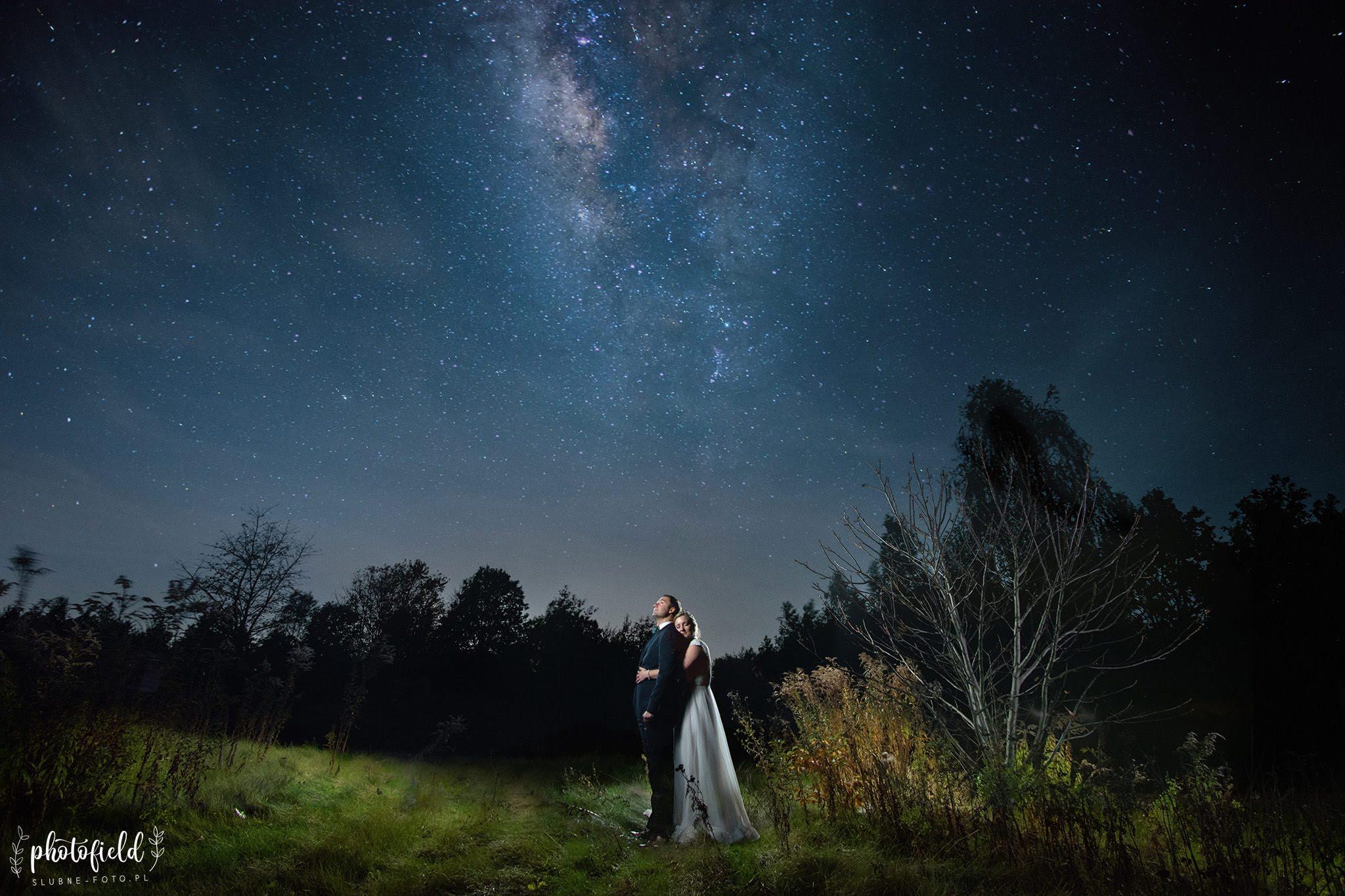 Sesja Ślubna pod gwiazdami